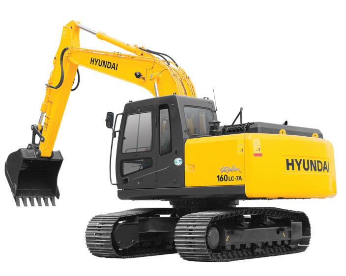 Экскаватор HYUNDAI R160LC