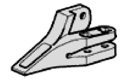Боковой Моноблок ковша SDLG и XCMG