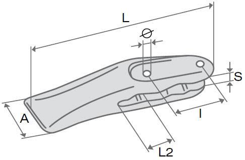 Зуб одинарный ковша экскаваторы-погрузчика Komatsu WB93